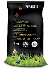 Complex fertilizer for lawn